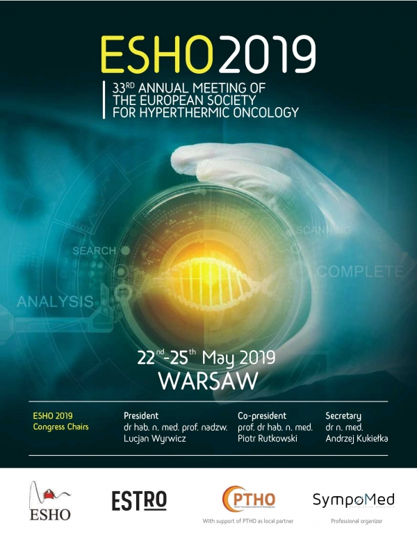 ESHO 2019 – Warsaw Plaza Hotel 22-24 May 2019